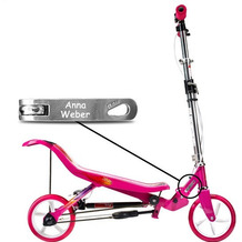 Space Scooter X580 pink/rosa MIT GRAVUR (z.B. Namen)